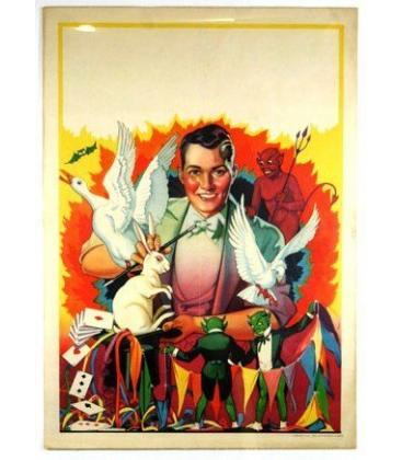 Boy Magician Poster/MAgicantic