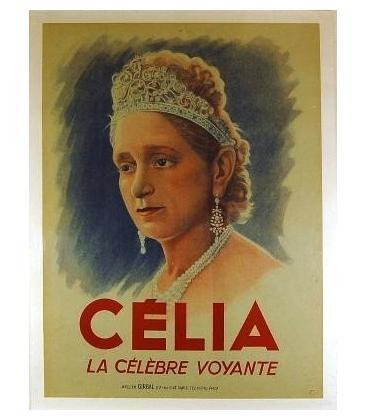 Celia the Clairvoyant Stone Litho/MAGICANTIC