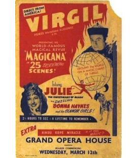 Virgil & Julie window card /Magicantic