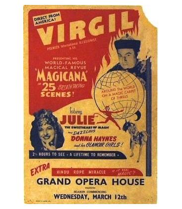 Virgil & Julie window card/MAGICANTIC