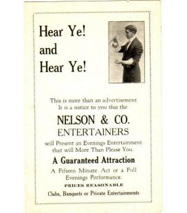Nelson & Co. small program/Magicantic