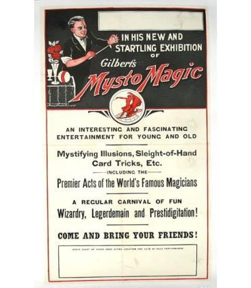 Mysto Magic Poster/MAGICANTIC