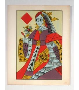 Queen of Diamonds Art Print/Magicantic