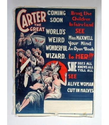 Carter the Great - Blue Poster/Magicantic