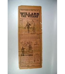 Willard the Wizard Broadside/Magicantic
