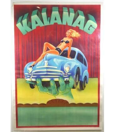 Kalanag - Girl on Car Stone Litho/Magicantic