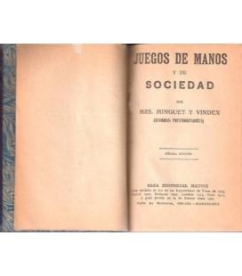 JUEGOS DE MANOS Y DE SOCIEDAD/MAGICANTIC 132
