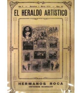 CARTEL ROCA, EL HERALDO ARTISTICO/MAGICANTIC