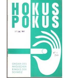 HOKUS POKUS Nº 1 1968/MAGICANTIC K-52
