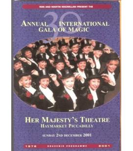 PROGRAMA ANNUAL INT. GALA OF MAGIC 2001/MAGICANTIC K74
