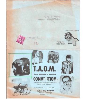 HOJA DE INSCRIPCION CONVENCIONT.A.O.M./TEXAS/MAGICANTIC/K103