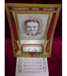 CALENDARIO MAYMO 1959/MAGICANTIC/C21