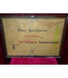 DIPLOMA TERTULIAS MAGICAS CANARIAS/MAGICANTIC