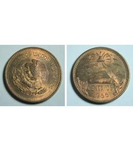 MONEDA MEXICANA 20 CENTAVOS