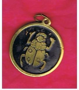 Amuleto Escarabajo Egipcio