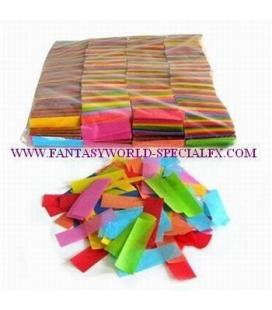 Confeti Rectangular Multicolor Ignifugo
