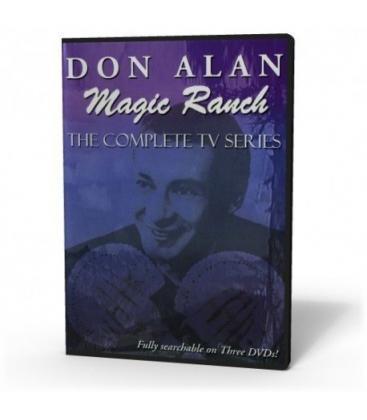 DVD DON ALAN MAGIC RANCH, SET 3 DVD