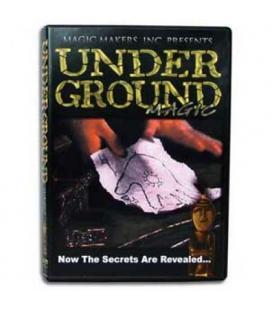 DVD UNDERGROUND MAGIC*CURSO DE MAGIA FACIL