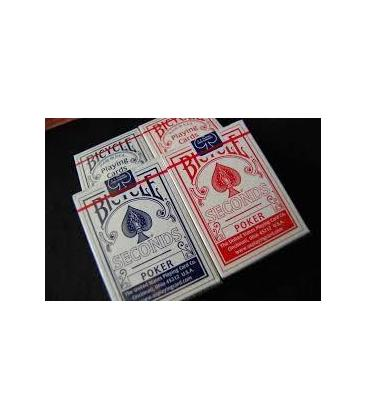 Bicycle - Poker deck seconds *DOS PAQUETES
