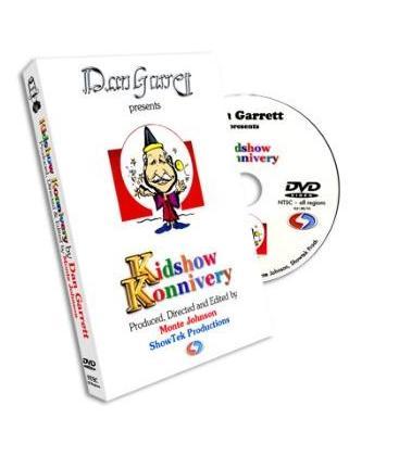 DVD DAN GARRET KIDSHOW KONNIVERY