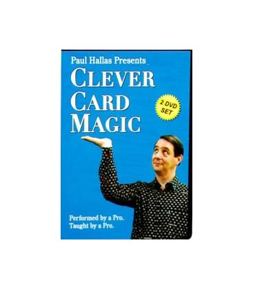 DVD CLEVER CARD MAGIC/PAUL HALLAS/2 DVD