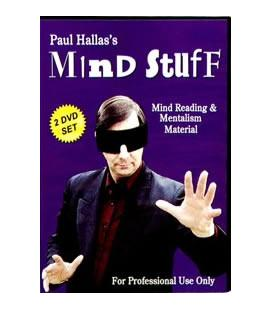 DVD MIND STUFF/PAUL HALLAS/2 DVD