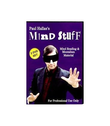 DVD MIND STUFF/PAUL HALLAS/2 DVD