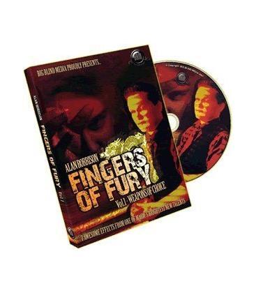DVD FINGERS OF FURY V.1