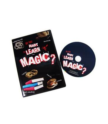 DVD DO YOU WANT TO LEARN MAGIC