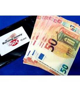 Burning Money (Billetes 50 €. Papel Flash)