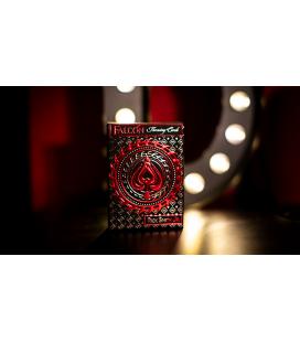 Falcon Razor Throwing Cards (Foil) By Rick Smith Jr. & De'vo