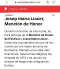 Memorial Li Chang *Premio Honorifico 2021* Jose Mª Llacer Sanchez/ Selecciones Magicas/