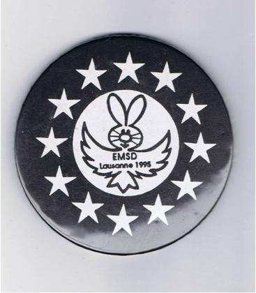 PLACA IDENTIFICATIVA E.M.S.D.-LAUSANNE 1995//MAGICANTIC
