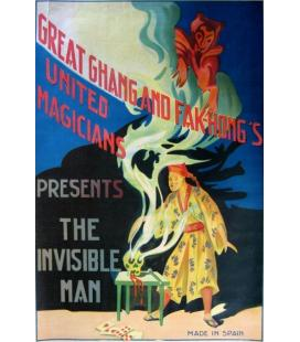 CHANG & FAK-HONGS-UNITED MAGIC. PRESENTS THE INVISIBLE MAN/MAG.
