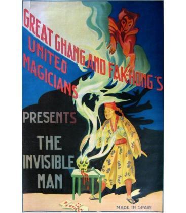CHANG & FAK-HONGS-UNITED MAGIC. PRESENTS THE INVISIBLE MAN/MAG.