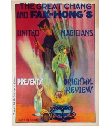 THE GREAT CHANG PRESENTS ORIENTAL REVIEW/Magicantic