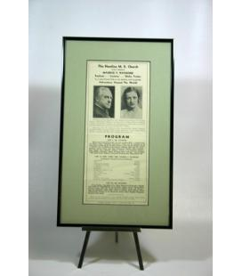 Great Raymond Framed Broadside**Magicantic