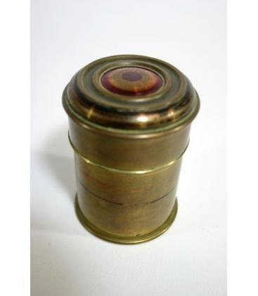 Brass Vintage Change Canister*Magicantic