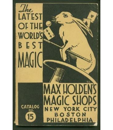 Catalog - Holden's No. 15/MAGICANTIC