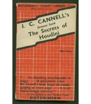 The Secrets of Houdini by J.C. Cannell/Magicantic/5109