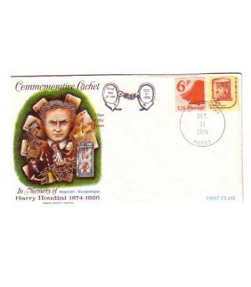 Houdini Commemorative Envelope Magicantic