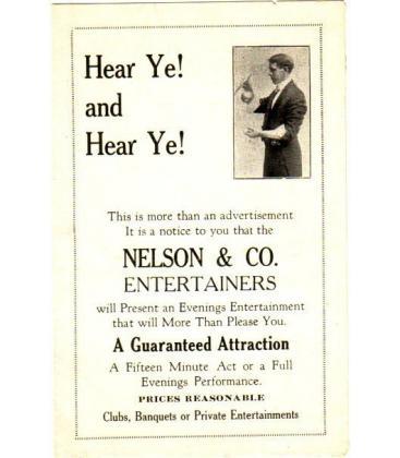 Nelson & Co. small program/Magicantic
