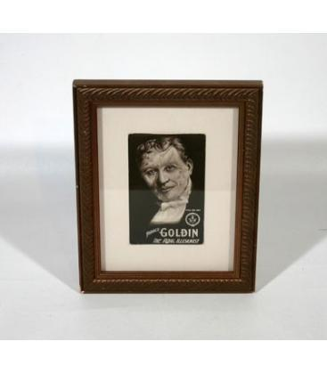 Horace Goldin Framed Postcard/Magicantic