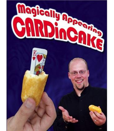 DVD MAGICALLY APPEARING CARDINCAKE