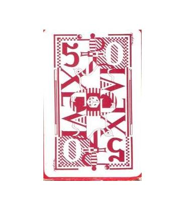 CARTAS XEVI DORSO ROJO/MAGICANTIC