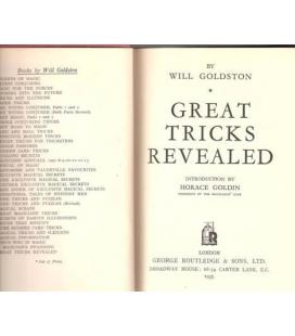Great Tricks Revealed by Goldston/Magicantic/5034