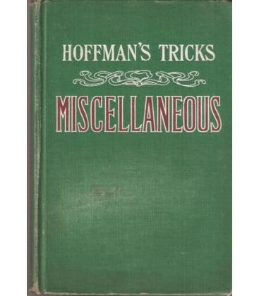 HOFFMAN`S TRICKS MISCELLANEOUS/MAGICANTIC/5036