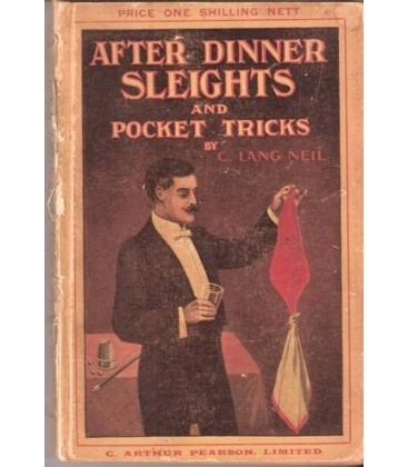 AFTER-DINNER SLEIGHTS AND POCKET TRICKS/MAGICANTIC/5039