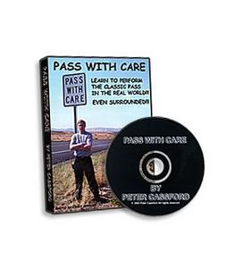 DVD PASS WITH CARE PETER CASSFORD