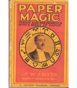 PAPER MAGIC BY W.J.BLYTH/TRICKS AND AMUSEMENTS/MAGI/5070